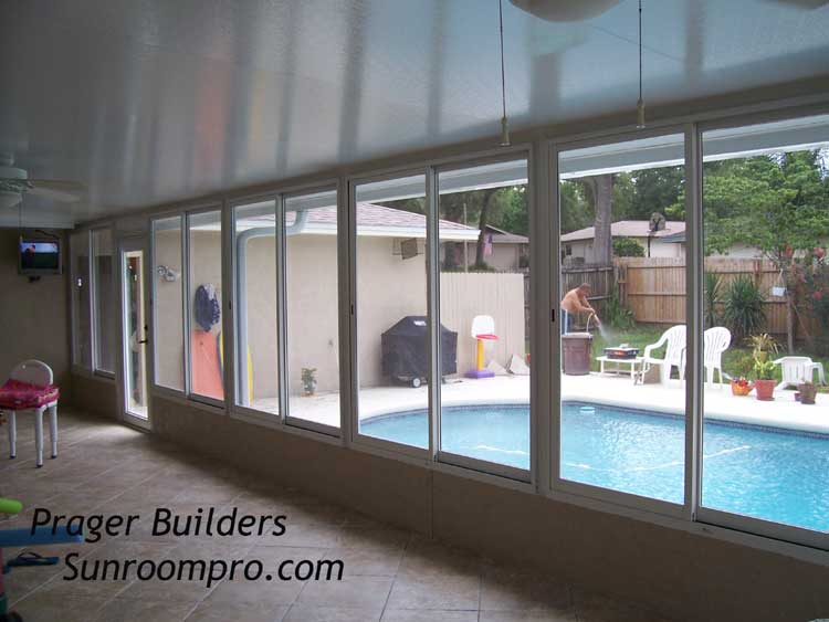 Altamonte springs sunroom enclosure builder acrylic for Large windows for sunroom