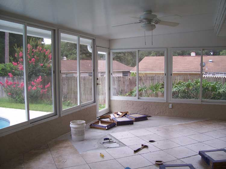 Florida Room Windows : Altamonte springs sunroom enclosure builder acrylic