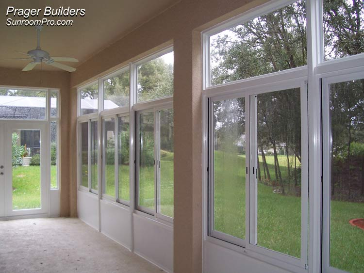 Florida Room Windows : Sorrento sunroom addition acrylic windows prager builders