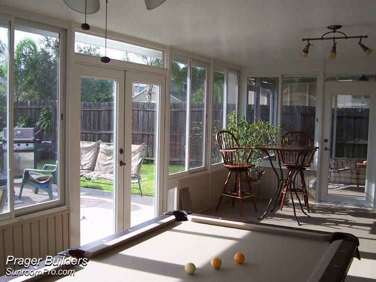 Florida Room Windows : Stoneybrook east sunroom addition builder acrylic windows