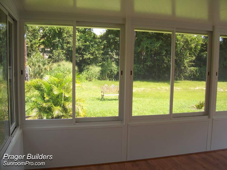 Florida Room Windows : Sanford florida sunroom enclosure acrylic windows prager