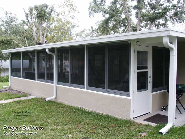 Sunroom acrylic windows enclosure winter springs florida Florida sunroom ideas