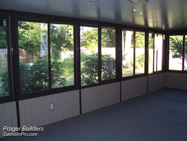 Orlando florida sunroom builders acrylic windows prager Florida sunroom ideas
