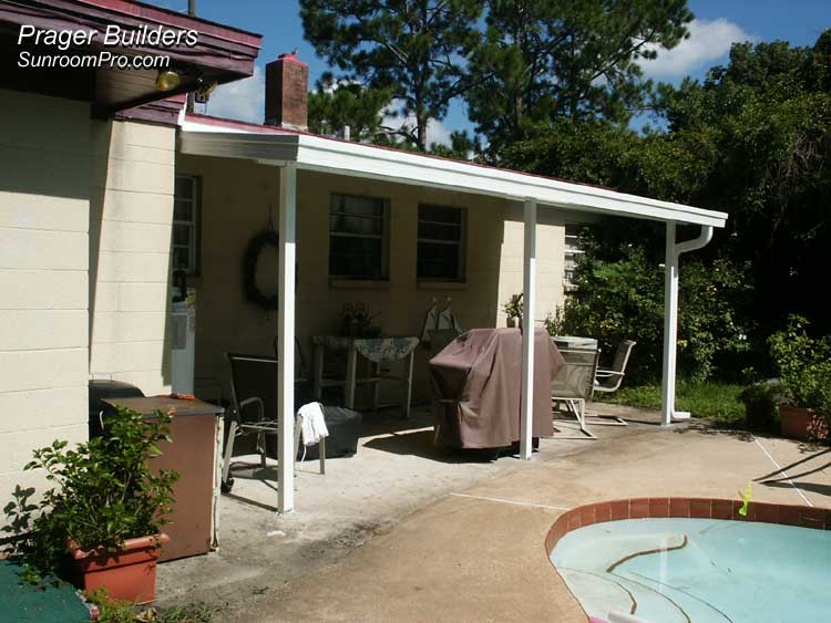 Patio Cover Orlando. Prager Builders Sunroom Pro.