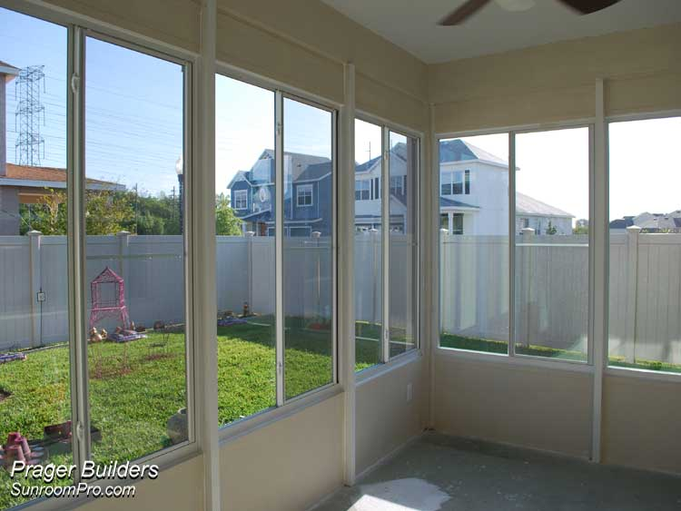 Florida Room Windows : Orlando sunroom addition glass windows prager builders