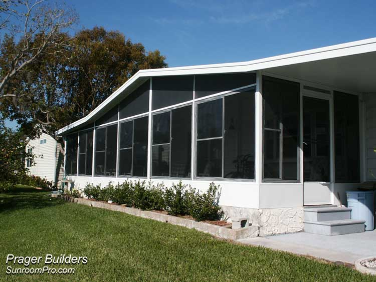 Sunroom addition vinyl windows orlando florida prager Florida room addition