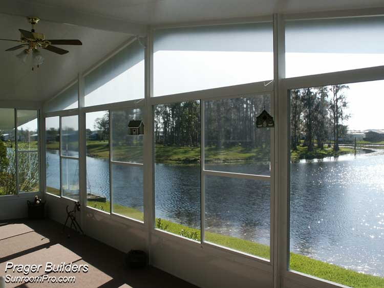 Florida Room Windows : Sunroom addition vinyl windows orlando florida prager