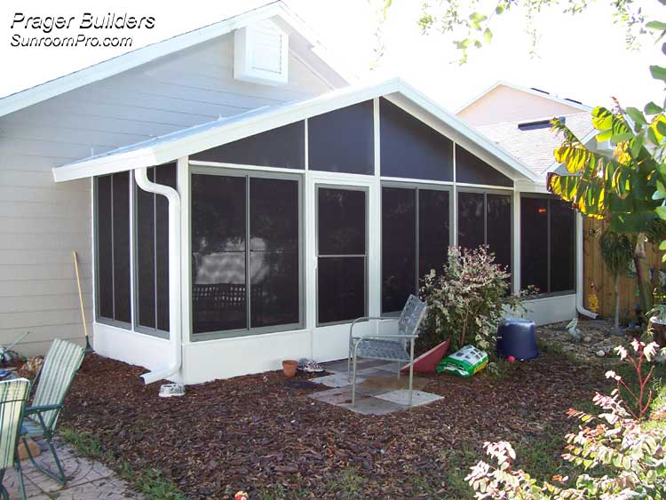 Florida Room Windows : Sunroom vinyl windows enclosure apopka florida prager