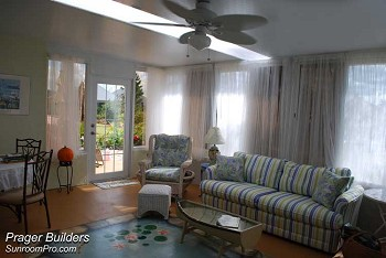 Mount Dora Florida Sunroom Acrylic Windows