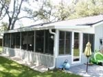 Maitland Florida Sunroom Acrylic Windows