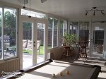 Sunroom Stoneybrook East Acrylic Windows.