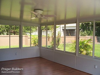 Sanford florida sunroom enclosure acrylic windows prager Florida sunroom ideas