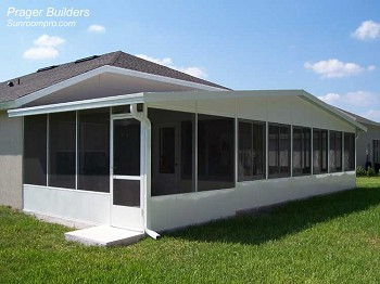 Sunroom Winter Springs Florida Acrylic Windows