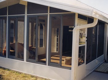 Orlando sunroom addition glass windows prager builders Florida room addition