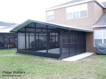 Screen Room Winter Springs with Sliding Doors
